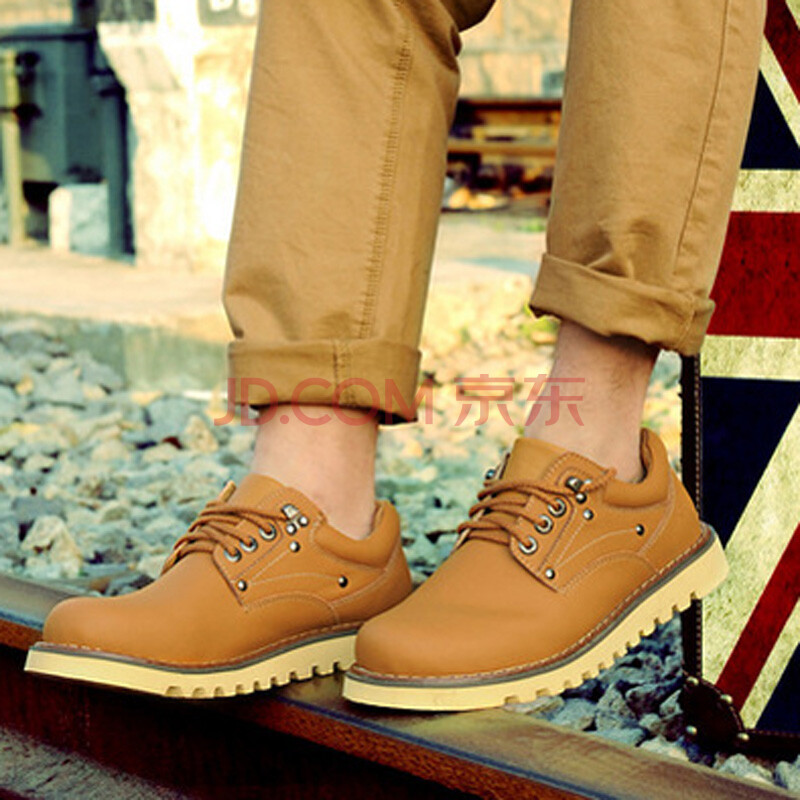 男鞋子工装鞋马丁靴