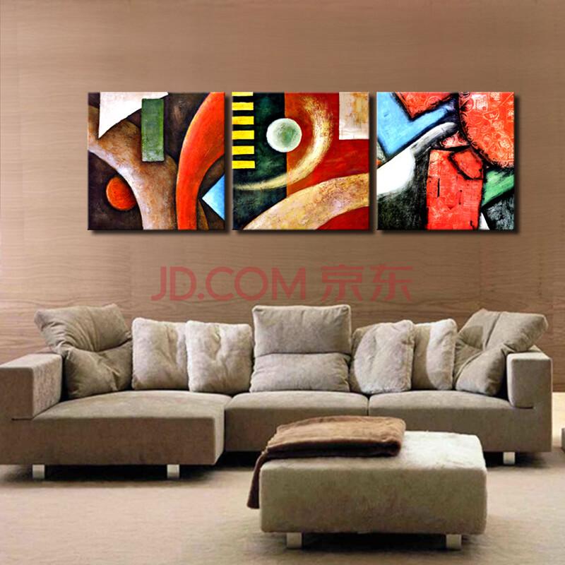 沙发背景墙壁画立体画电表箱遮挡画餐厅挂画抽象主义