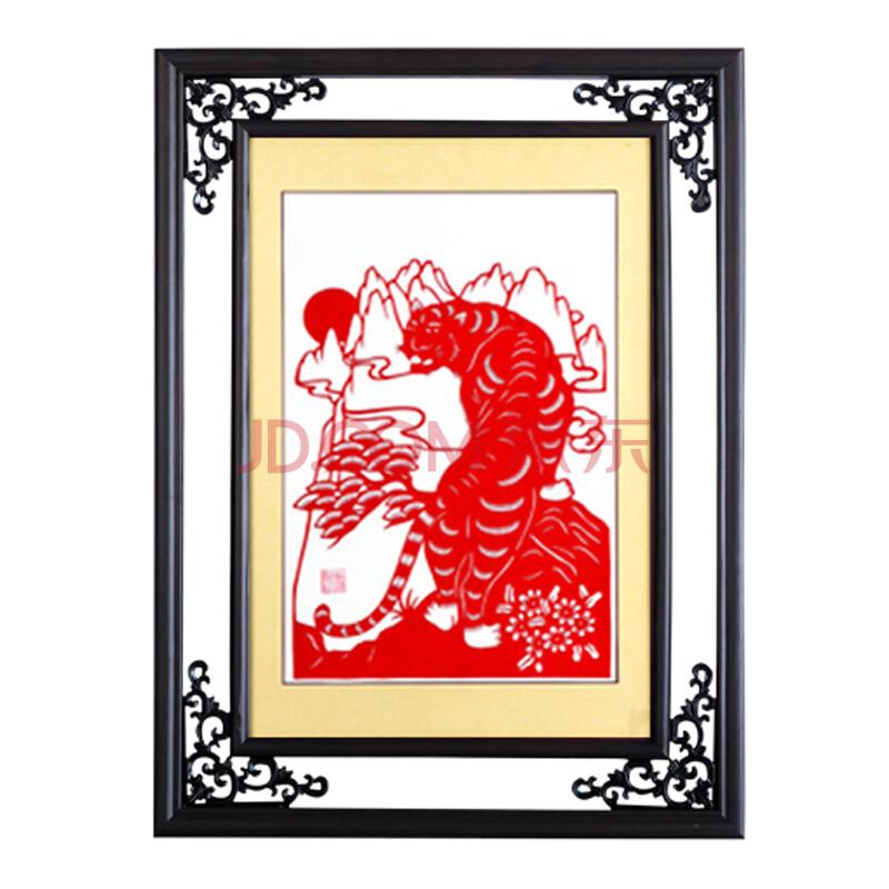 装饰画中式非物质文化遗产剪纸漳浦工艺品收藏创意生日礼物/生肖纯图片
