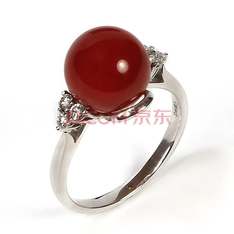 珍珠珊瑚戒指款式