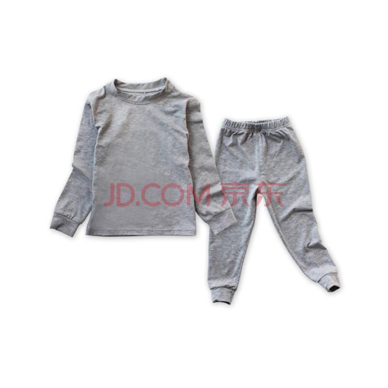 儿童内衣运动套装全纯棉男女童宝宝婴儿睡衣大嘴猴无