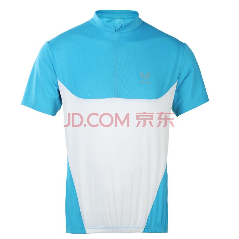 阿肯诺(acanu)男款骑行服短袖 t恤 aajb81038 弹力面料 星空蓝 m图片