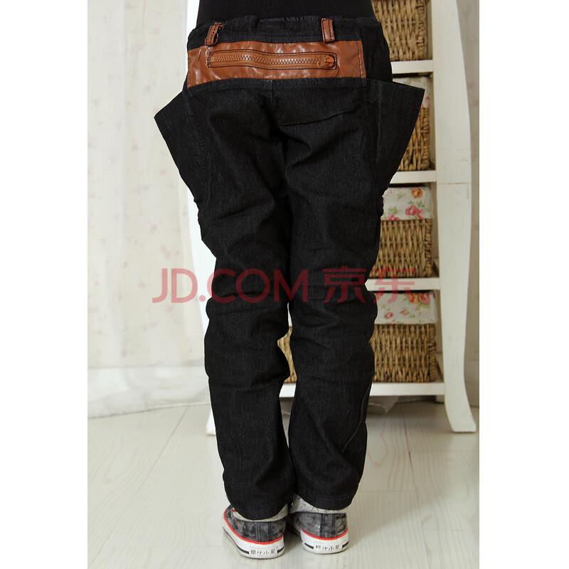 2014春装新款儿童牛仔裤男潮长裤