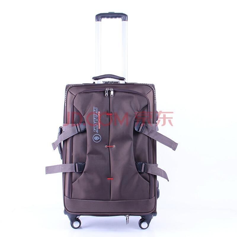 百旅bailv高档万向轮铝合金拉杆时尚休闲捍扣拉杆箱旅行箱登机箱行李图片