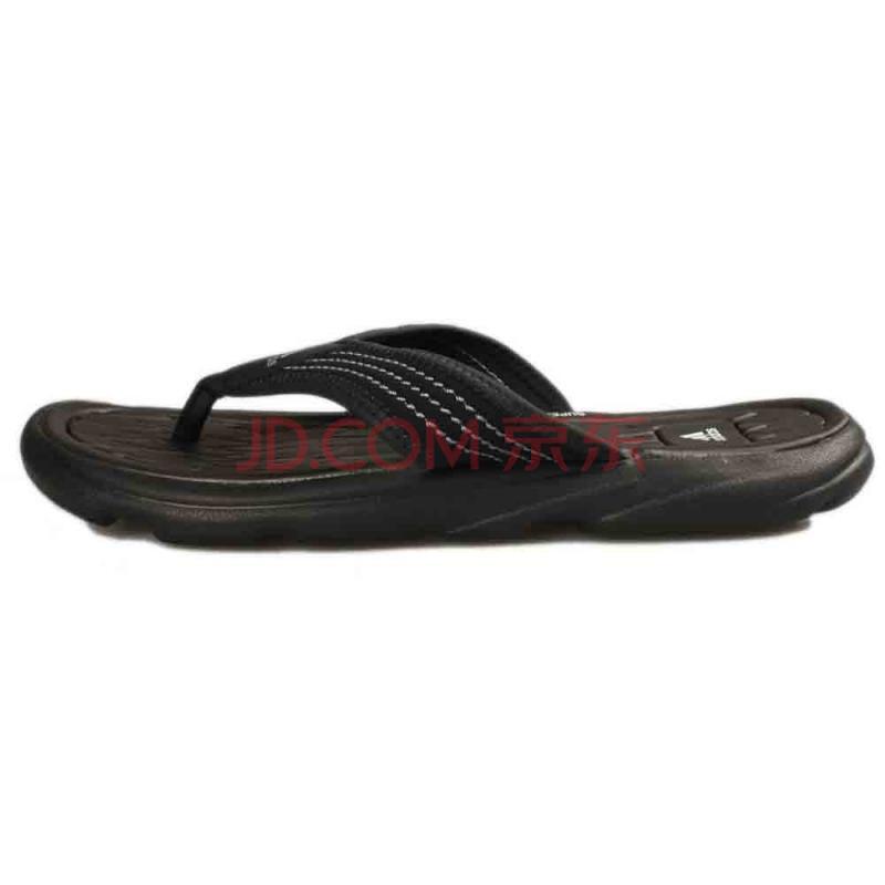 最强满减 adidas阿迪达斯2013新款男子 Raggmo Thong SC运动系列凉鞋/拖鞋G13389 黑色 39