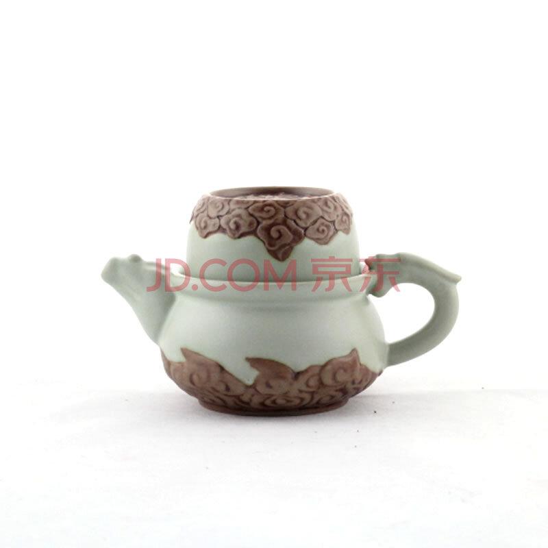 百工制器(CRAFTS CREATE)汝窑快客杯旅行茶杯 一壶一杯陶瓷茶具 汝窑杯 盖碗