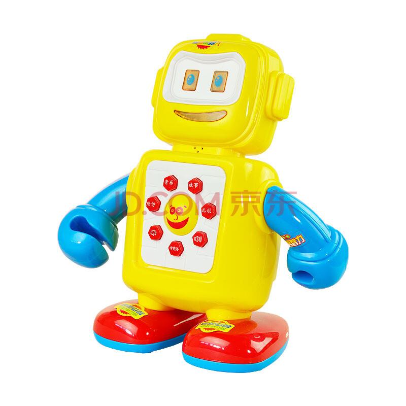卡通机器人早教玩具
