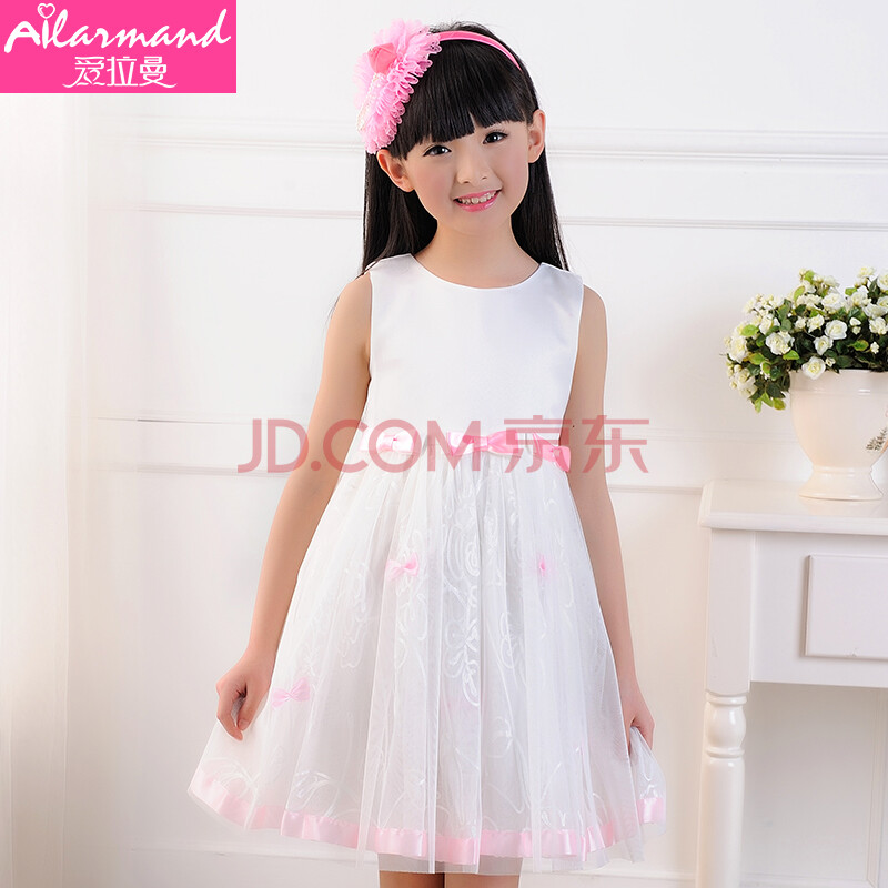 2014儿童婚纱裙图片