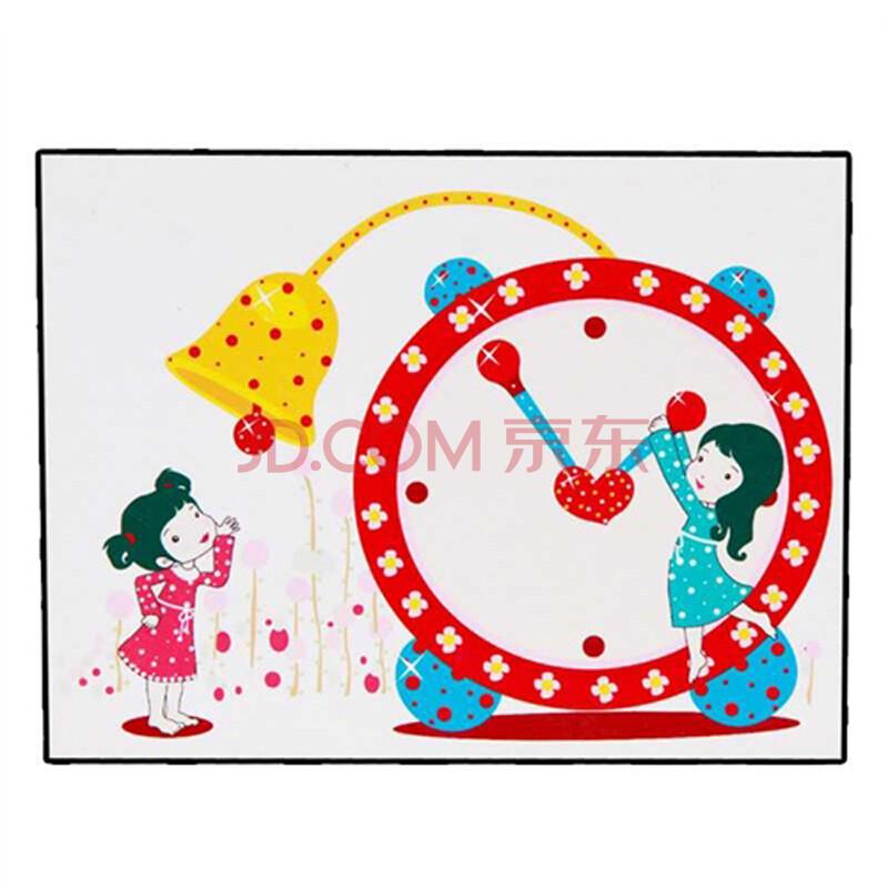 泰莲庭 diy数字油画 30*40手绘卡通儿童画 客厅餐厅 幸福钟