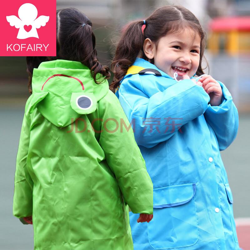 可飞儿kofairy儿童雨衣韩国宝宝可爱动物雨衣小孩