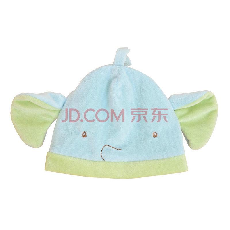 德国solini 蓝象造型帽 宝宝帽子 可爱卡通造型帽子全棉针织布 蓝色
