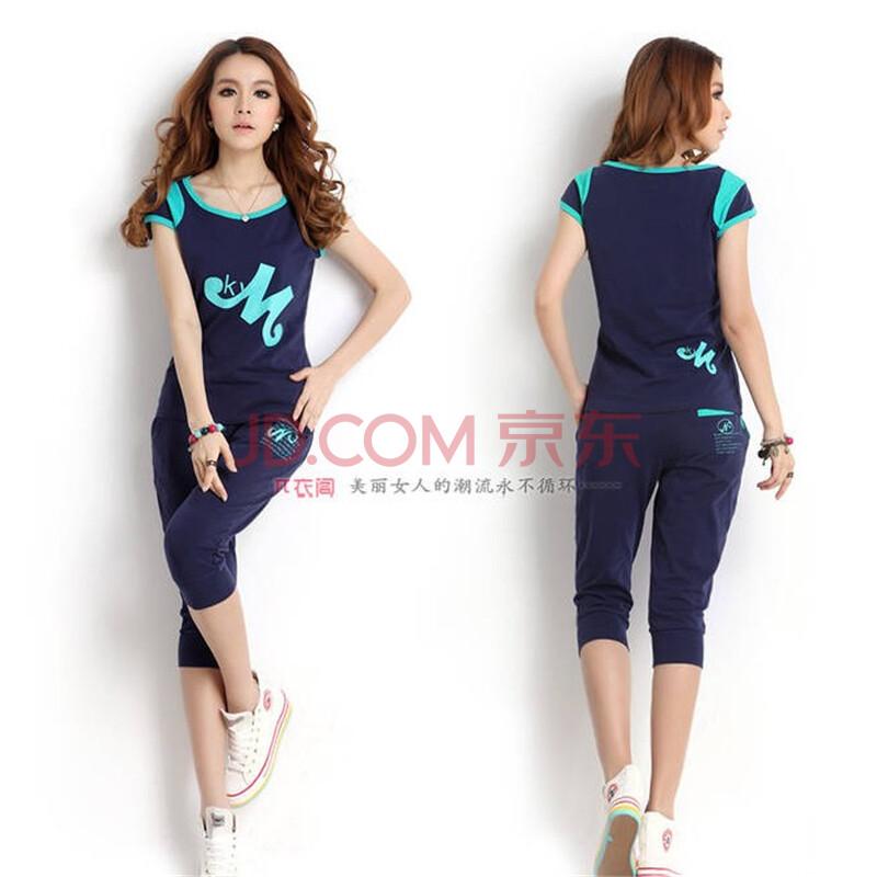 运动套装女款夏休闲运动服套装女夏装时尚韩版na10-运动套装女款夏