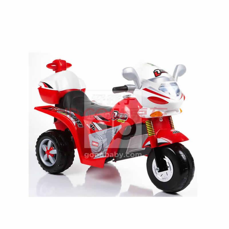 小龙哈彼儿童电动三轮摩托车lw634-h204/lw634-j202 红色lw634-j202
