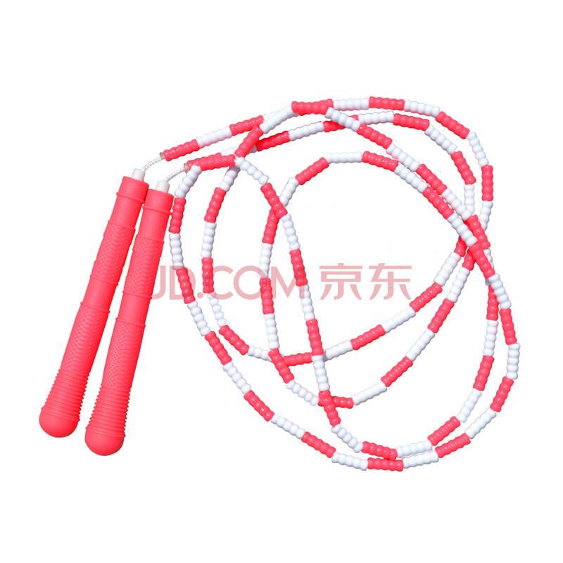 龙花(longhua) 701b 花样竹节短绳 学生健身花式珠节跳绳 橙色图片
