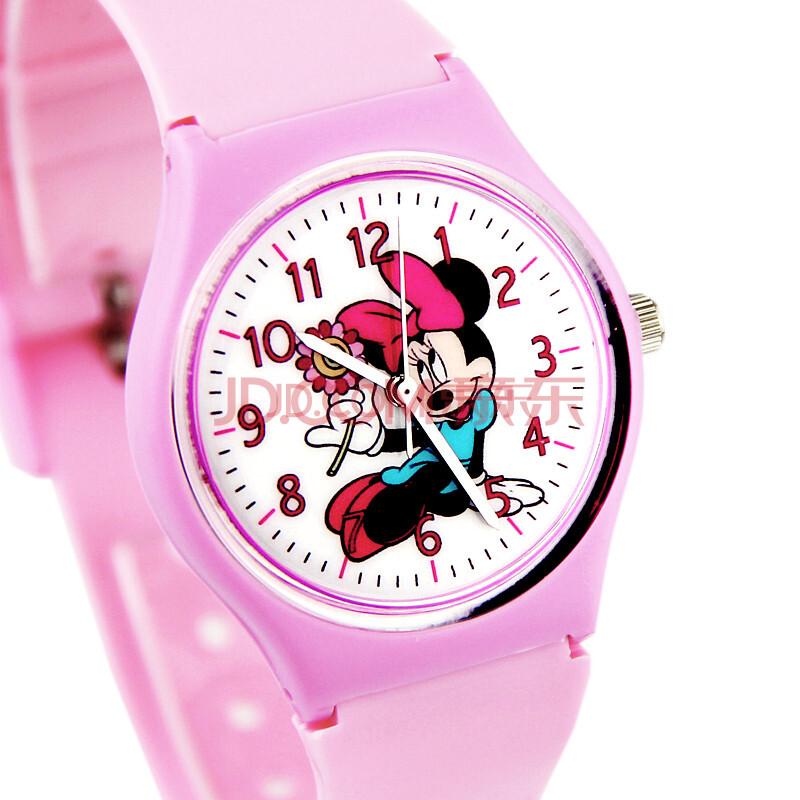 正品迪士尼disney手表儿童手表男孩女孩米奇手表石英
