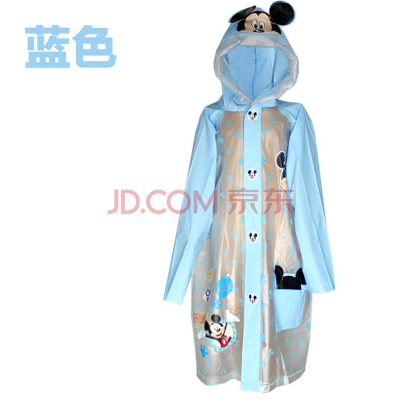 迪士尼儿童雨衣 男女童加厚宝宝雨披
