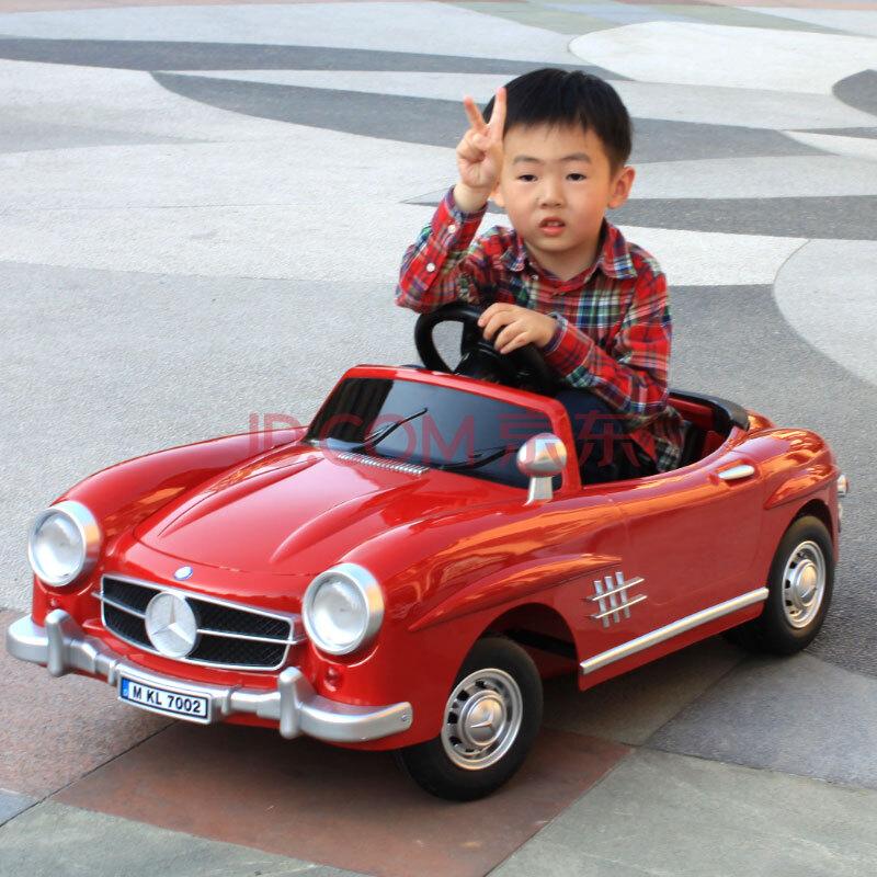 快乐年华遥控车可坐儿童电动车