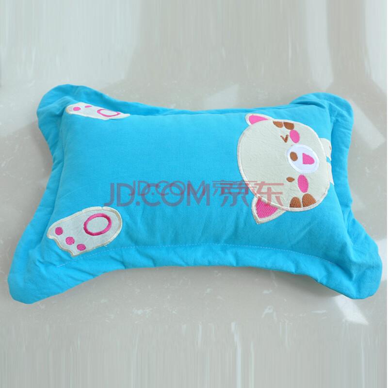韩国进口水洗棉儿童枕芯