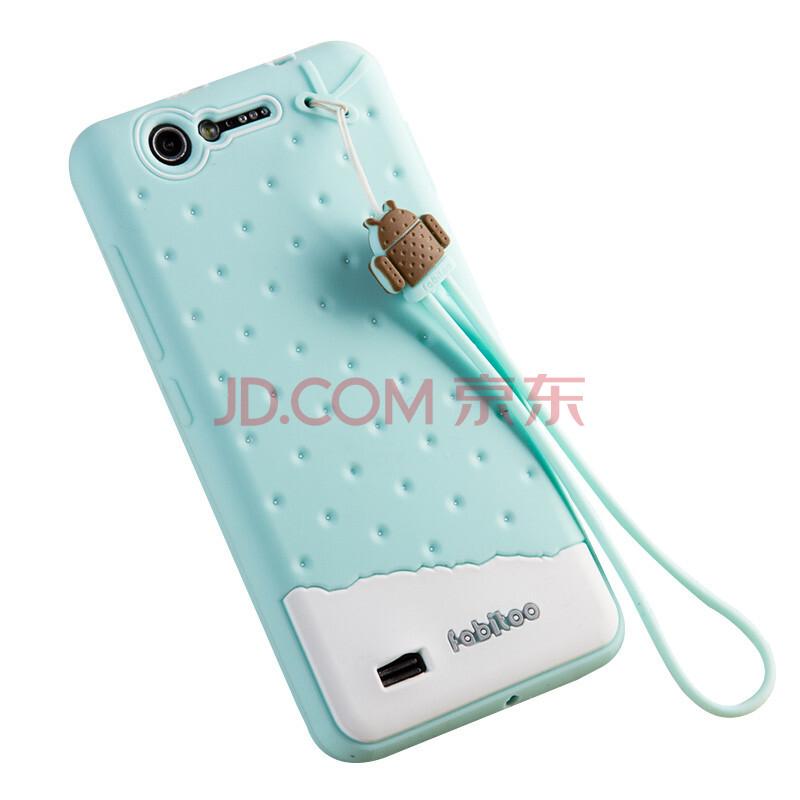 手机套vivo_法芘兔 硅胶保护套 适用于步步高x1手机套 vivo x1保护壳 苹果绿