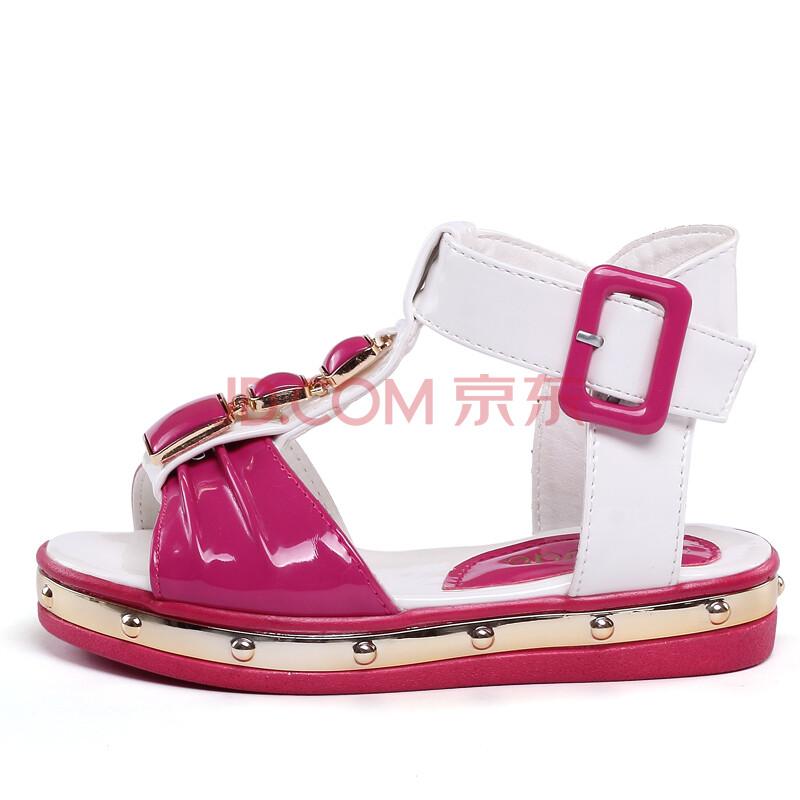 童鞋女童凉鞋韩版公主凉鞋清爽儿童女凉鞋正品z009
