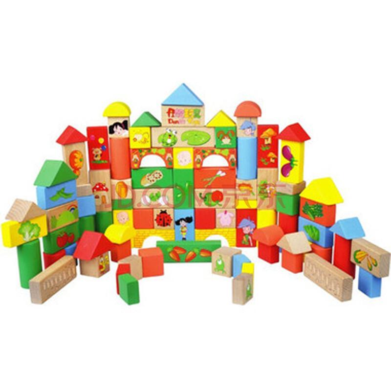 儿童益智玩具木制积木