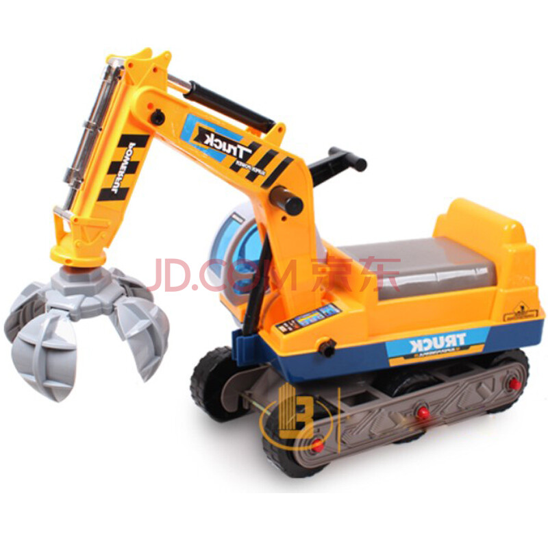 可骑挖土机玩具挖机