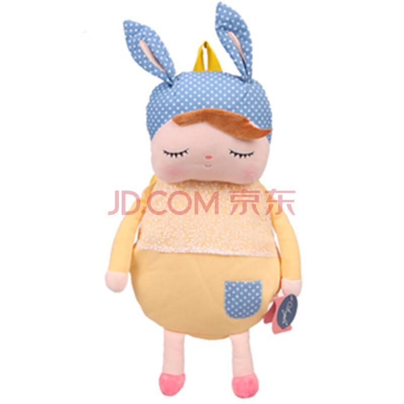 咪兔儿童书包 动物卡通书包 背包 幼儿园 出游儿童卡通包 黄色乡村