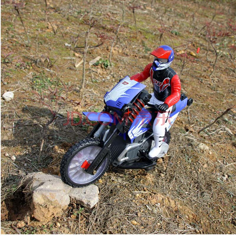 特技越野摩托车 遥控摩托车