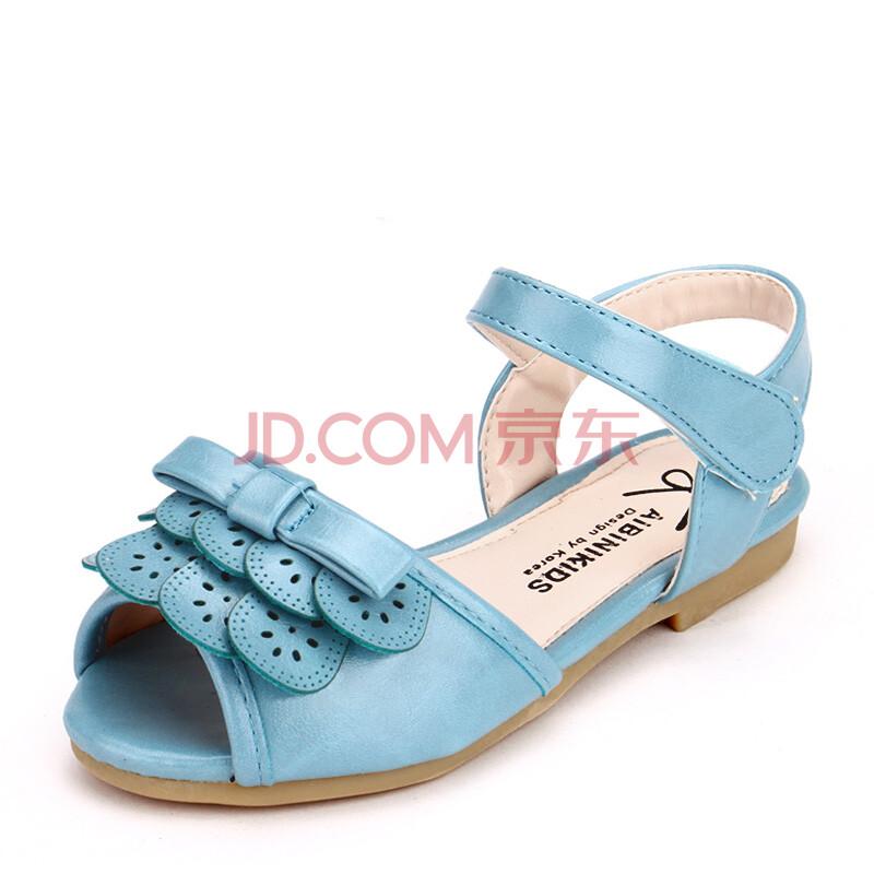 2014夏款新款儿童凉鞋女童沙滩鞋韩版时尚女孩公主鞋