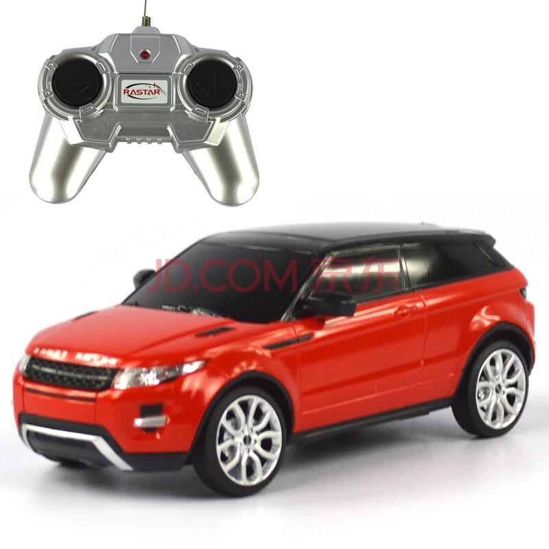 遥控车模 46900 1:24路虎极光 儿童益智玩具汽车 红色
