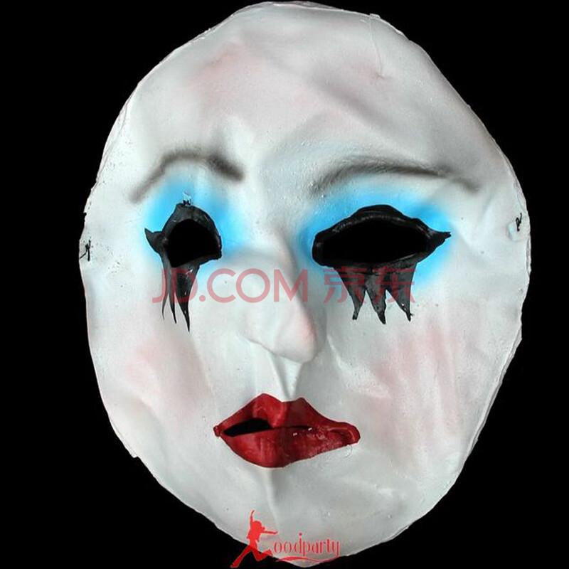 吸血鬼面具手绘