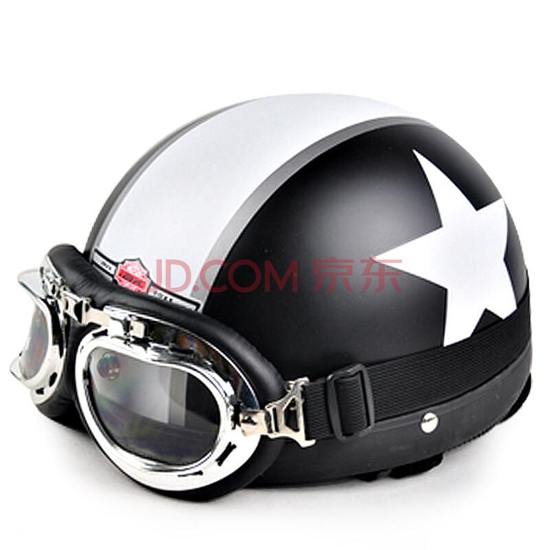 韩版哈雷头盔 摩托车头盔