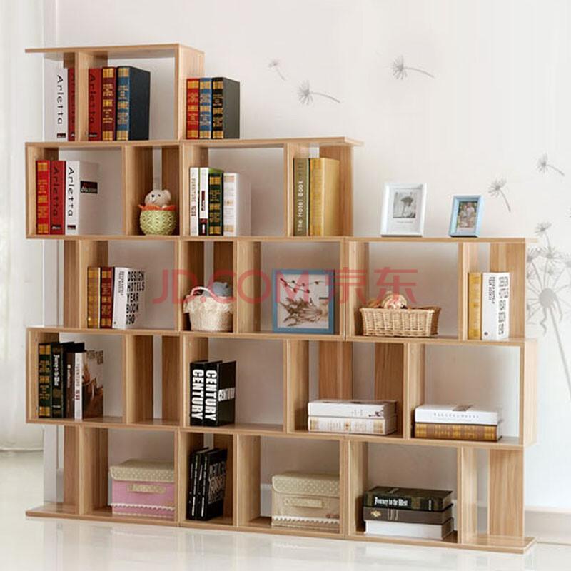 书架组合 简易陈列柜隔断柜儿童书柜创意