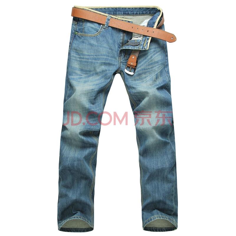 男装时尚休闲水洗牛仔裤 73075