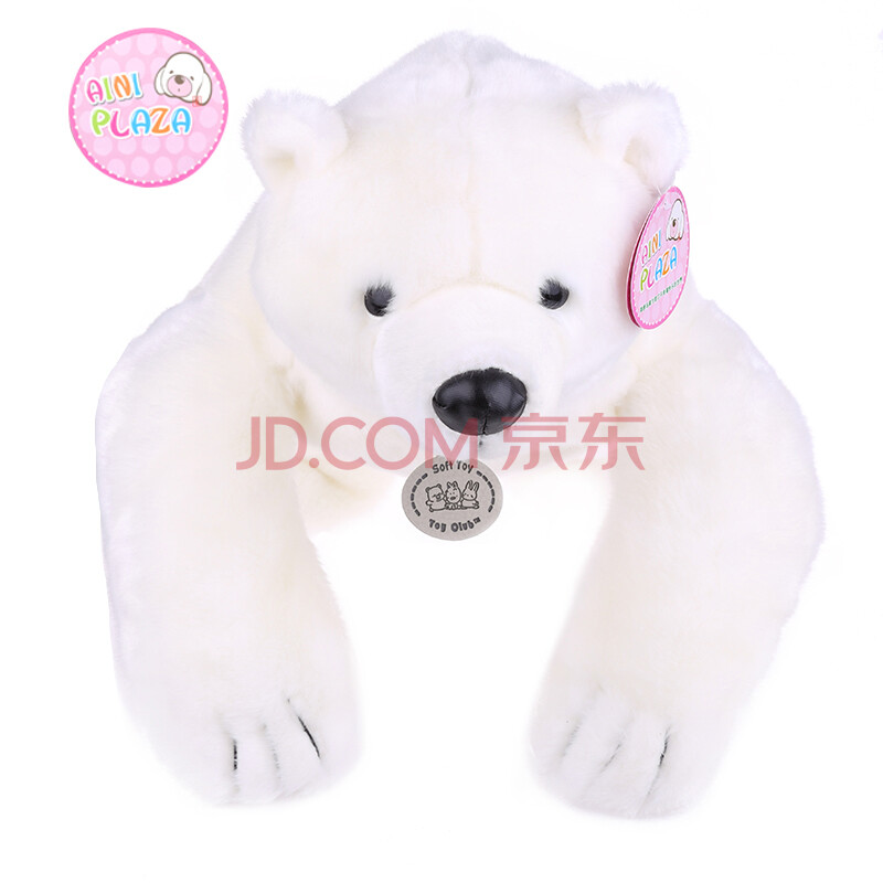 熊玩具/可爱北极熊毛绒公仔/熊玩偶娃娃/可以背着玩