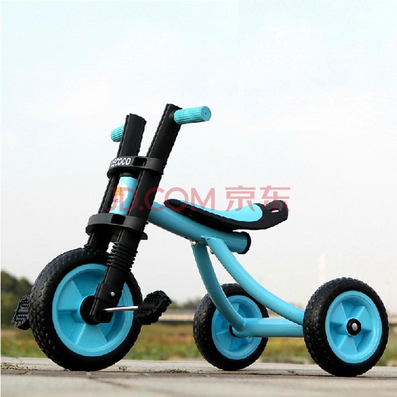 乐卡儿童三轮车脚踏车
