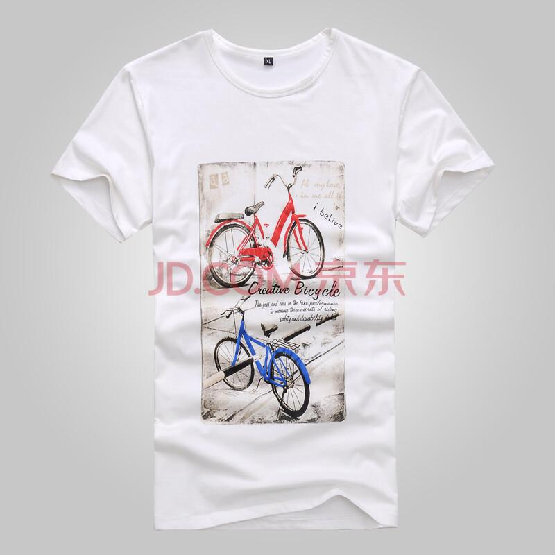 2013夏季新款短袖t恤 欧美英伦风男士t恤 男 潮男 t恤 修身印花常规袖短T