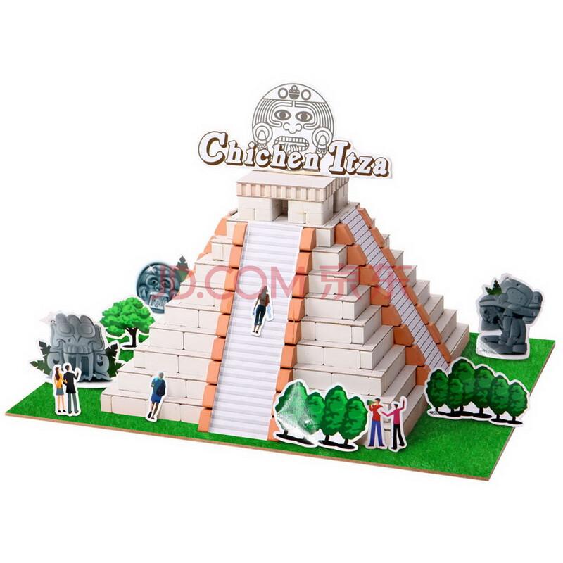 益智玩具墨西哥玛雅金字塔