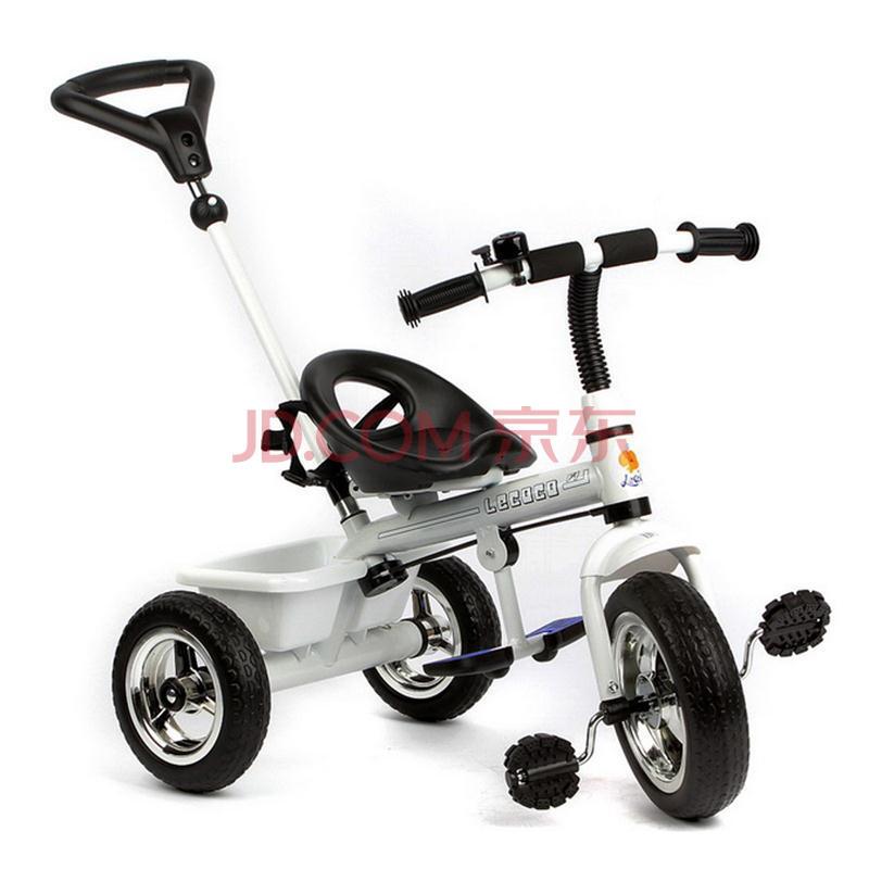 儿童三轮车脚踏车 手推车