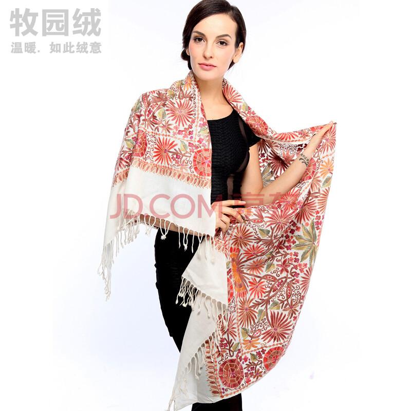 印度进口民族风纯手工编织披肩围巾两用
