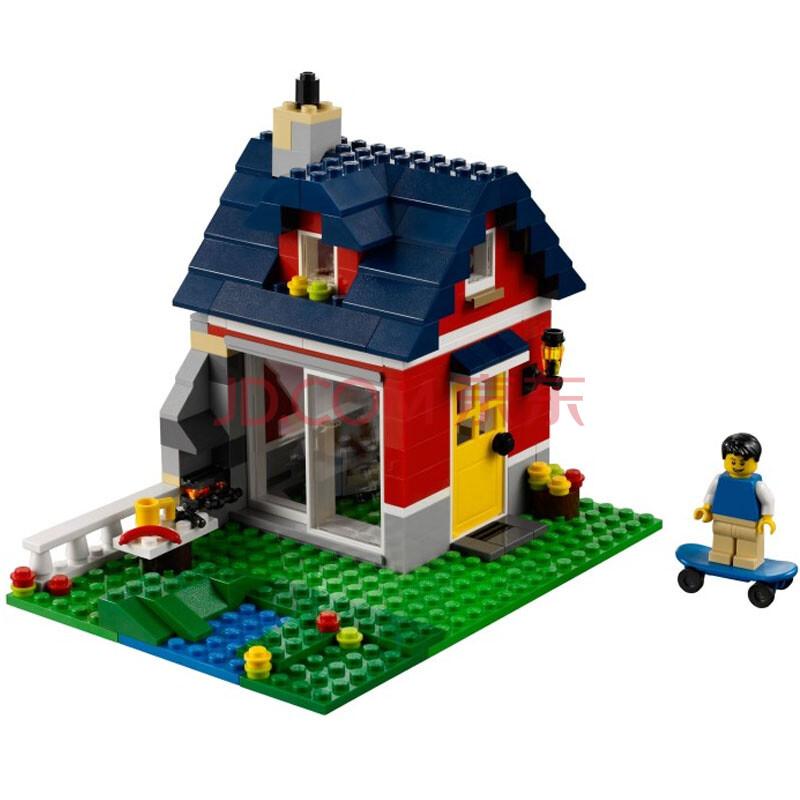 乐高(lego)积木 创意百变小颗粒系列