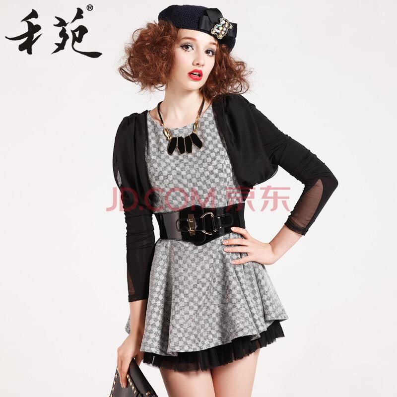 禾苑2014原创设计女装品牌春装新款韩版时尚长袖子潮
