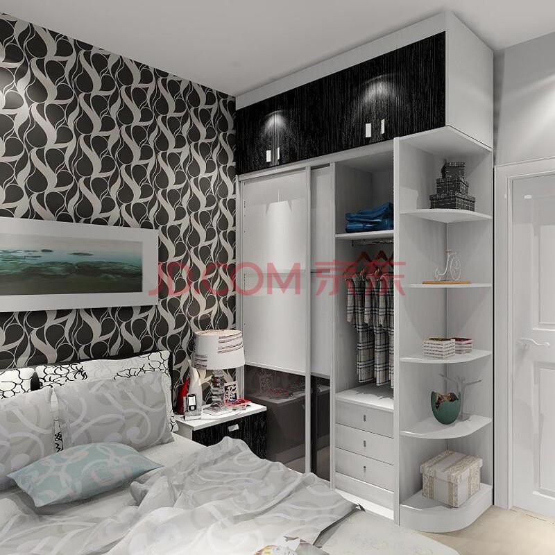 卧室柜子装修效果图 卧室柜子隔断效果图 卧室窗户柜子效果图