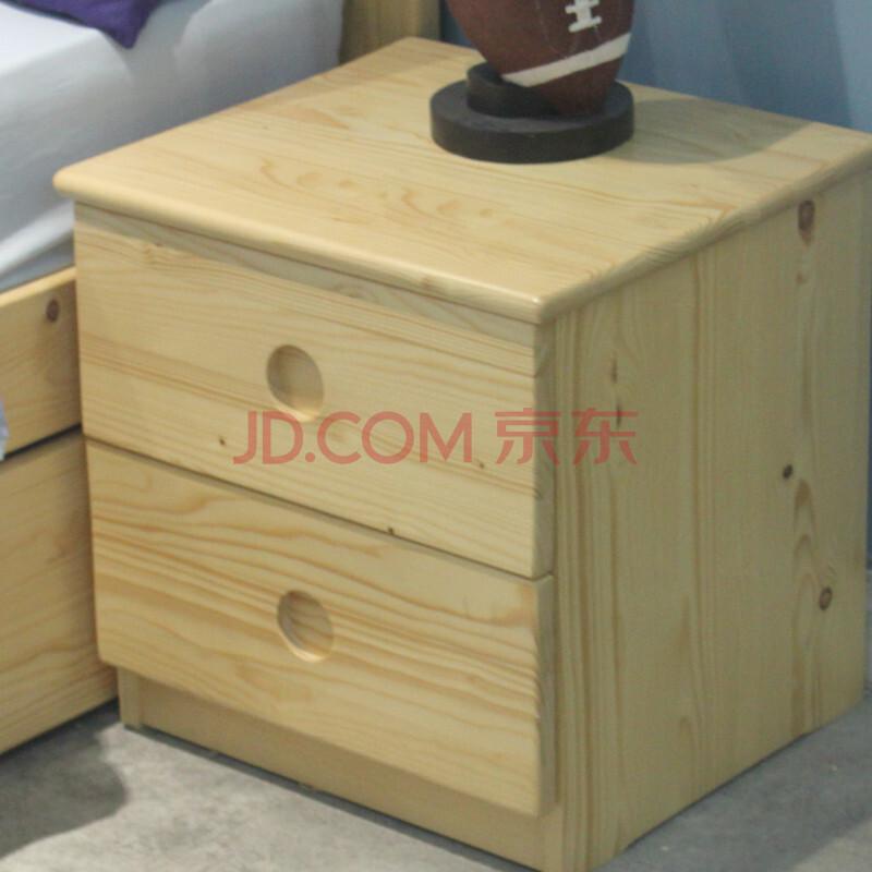 童话城堡系列全实木儿童家具床头柜