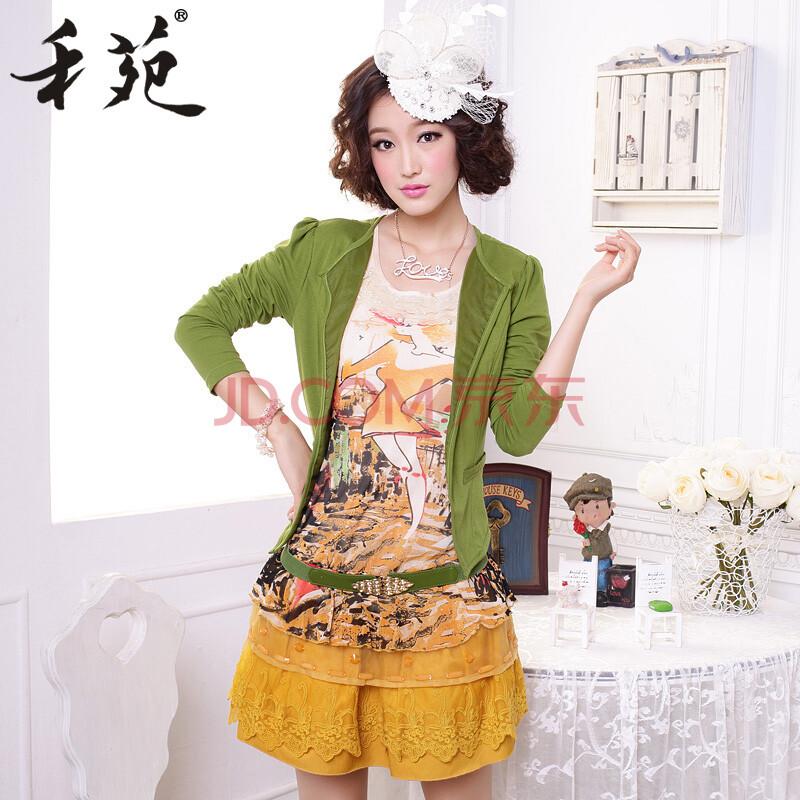 禾苑2014新款春装女装韩国长袖性感名媛气质雪纺品牌