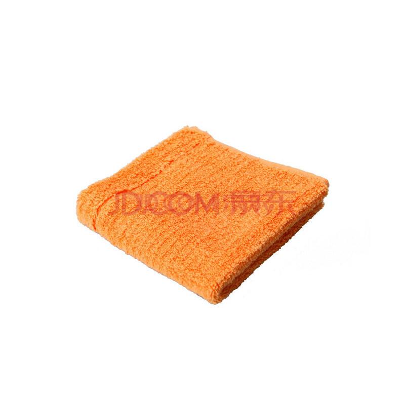 TAYOHYA 多样屋旗舰店 Tide潮色方巾洗脸浴具男女通用酒店浴室纯棉用品 橙 包邮