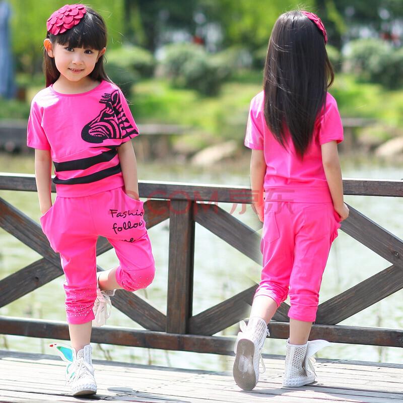 儿童运动套装新款女夏