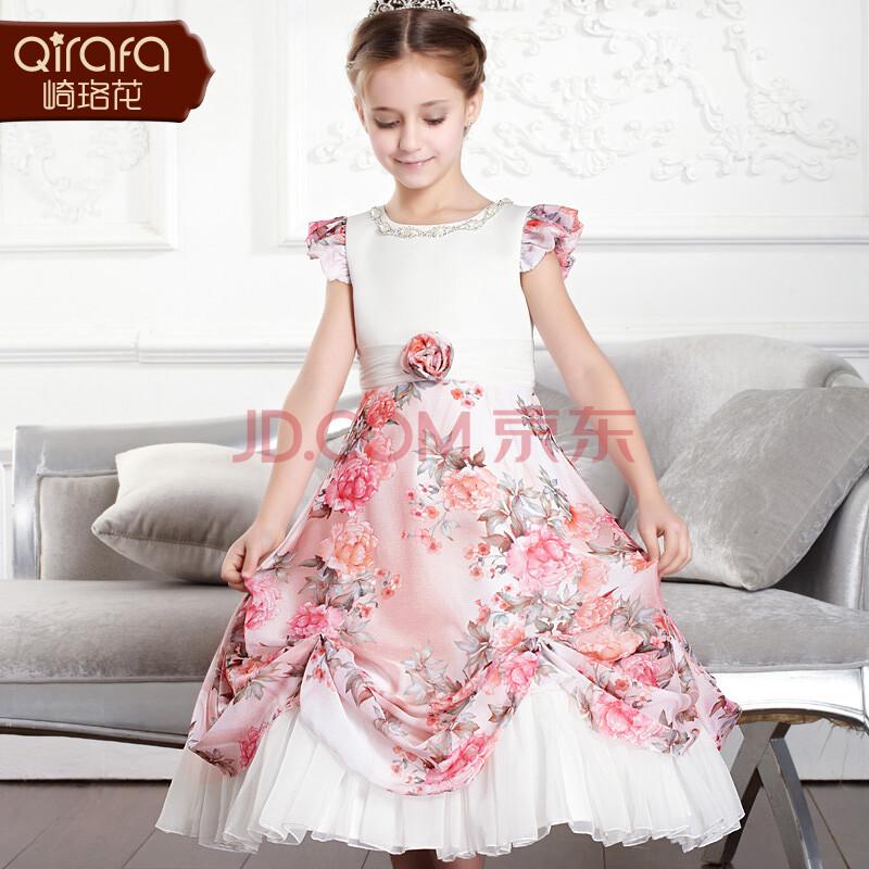 儿童婚纱裙公主裙礼服裙