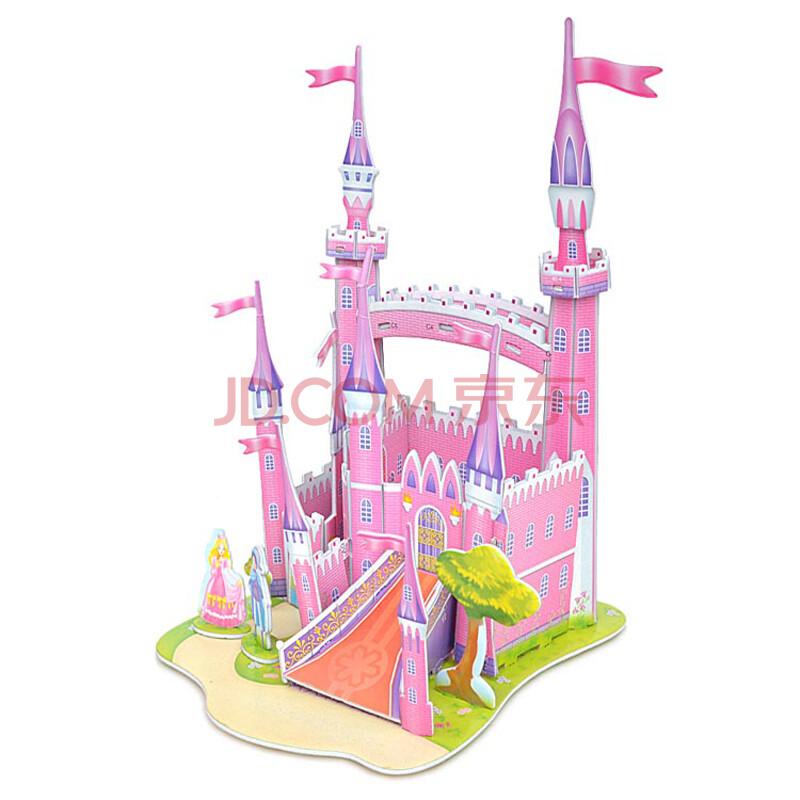 儿童手工城堡画