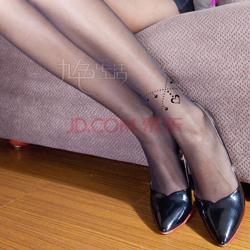 情趣内衣丝袜 性感刺青假纹身美腿 超薄显瘦透视连裤袜 女式情趣丝袜